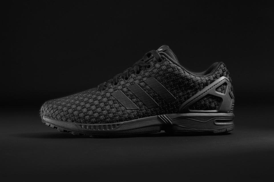 chaussures adidas foot locker zx flux fille noir blanc